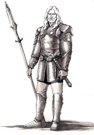 A rider of Rohan par Tomasso Galmacci