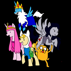 Adventure Time and My Little pony