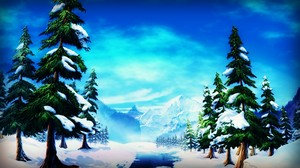 Alpha And Omega Winter Background
