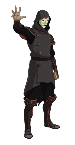 Amon Full Body Render