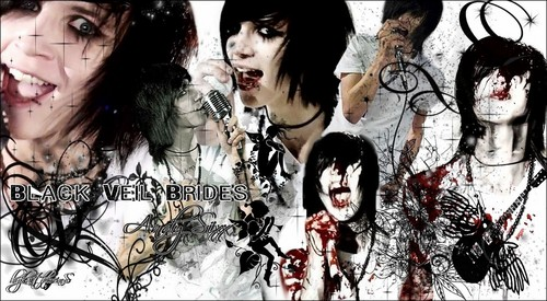 My Friends On Fanpop wallpaper with a portrait entitled Andy Sixx Black Veil Brides