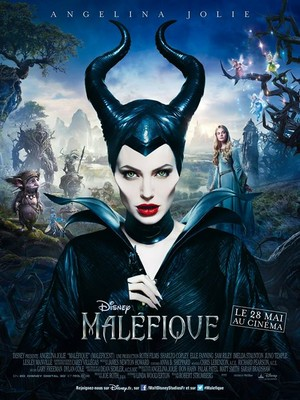 Angelina Jolie as 'Maléfique'