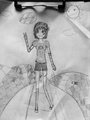 Self-Shoujo-Portrait - anime-drawing photo