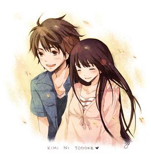 ♥Sawako x Kazehaya→'LOVE'♥