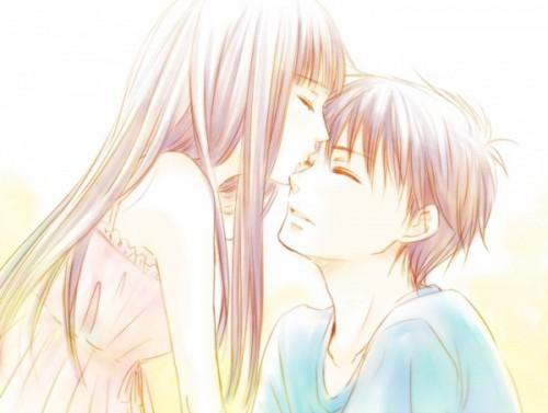 Anime Couples Wallpaper Titled Sawako X Kazehaya LOVE