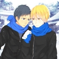 Aomine and Kise - anime fan art