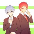 Kuroko and Akashi - anime fan art