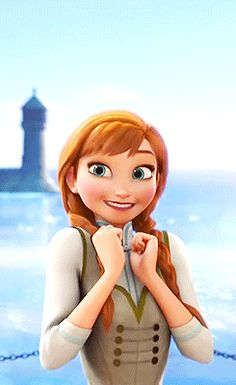 Frozen Images Anna Excited Wallpaper And Background Photos