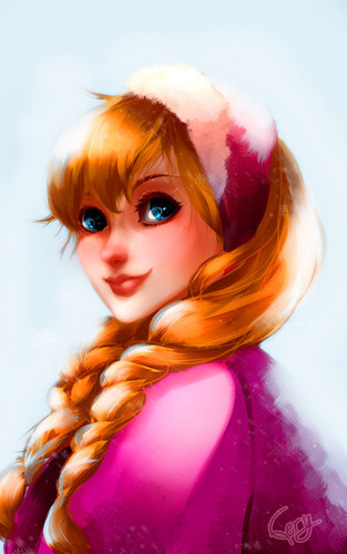 Princess Anna wallpaper called Anna