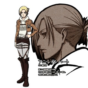 Annie Leonhardt character デザイン