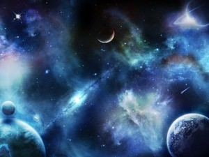 Cosmic karatasi la kupamba ukuta