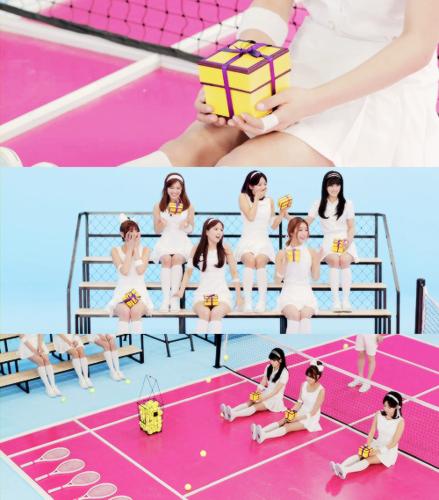 Korea Girls Group A Pink wallpaper called Apink 'Mr.Chu' M/V