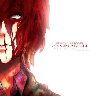 Armin Arlert Bloody