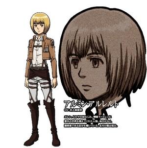 Armin Arlert character design