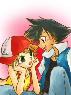 Ash and Misty~ Cute nay?
