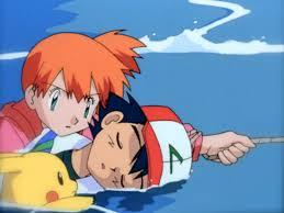 Misty saves Ash