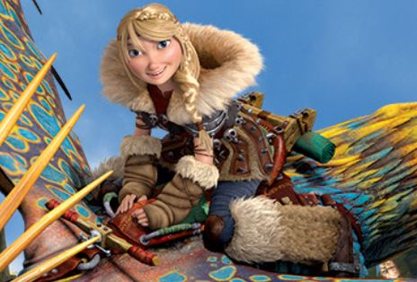 How To Train Your Dragon Wallpaper Entitled Astrid Hofferson