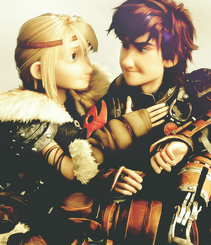 How To Train Your Dragon Wallpaper Titled Astrid And Hiccup
