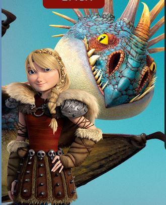 How To Train Your Dragon Wallpaper Titled Astrid And Stormfly