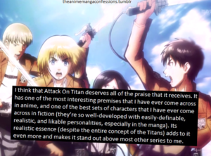 Attack On Titan Tumblr. Confession (Mine)