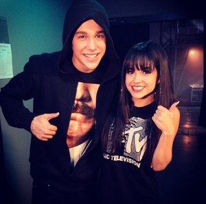Austin and Becky G