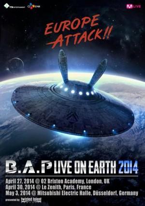 B.A.P. Eropah Attack!!