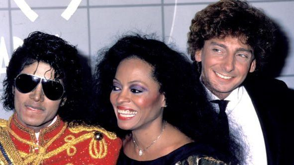 Backstage At The 1984 American música Awards