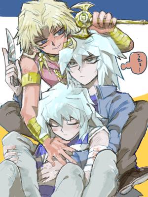 Bakura...Ryou...Marik