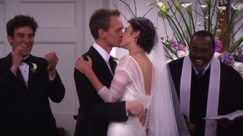 Barney and robin wedding