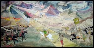 Battle of the Pelennor Fields by Einaari
