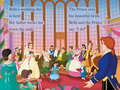 Belle's Wedding in Disney Princesses Beautiful Brides - beauty-and-the-beast photo