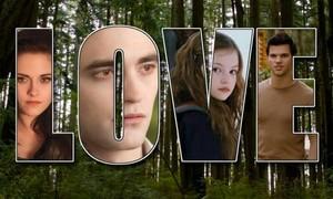 Bella, Edward, Renesmee and Jake
