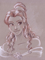 Belle      - disney-princess fan art