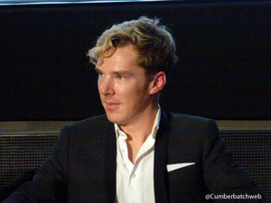 Benedict at Hounds of Baskerville Screening