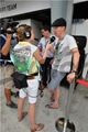 Benedict at the Malaysian Grand Prix - benedict-cumberbatch photo