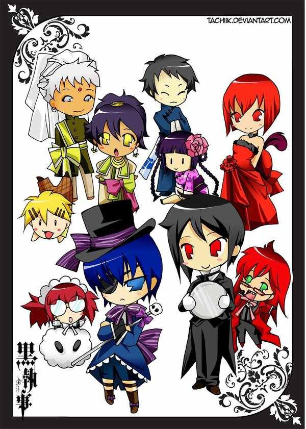 Tyger002 Images Black Butler Chibi HD Wallpaper And Background Photos
