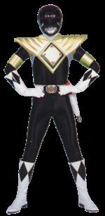 Black armored ranger