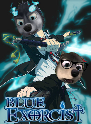 Blue Exorcist with Stinky and Runt