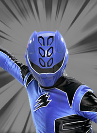 Blue jungle ranger
