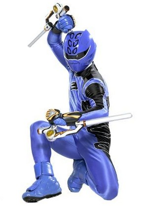 Blue jungle ranger