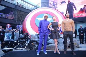 Captain America: The Winter Soldier China Premiere