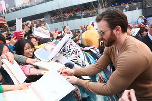Captain America: The Winter Soldier China Premiere