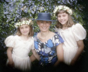 Carole Middleton with Pippa & Kate