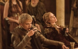 Cersei Lannister and Joffrey Baratheon (Season 3)