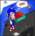 Chilidog time? - sonic-the-hedgehog fan art