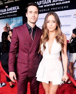 Chloe and Brett - Captain America: The Winter Soldier Premiere