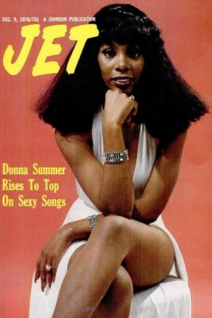 Donna Summer On The Cover Of JET Magazine