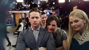 Josh, Colin, Lana and Jennifer on Good Morning America