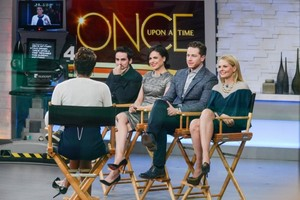 OUAT Cast on Good Morning America
