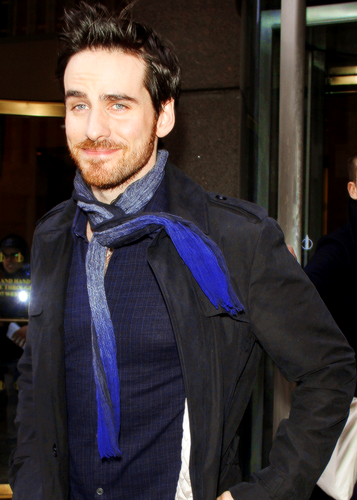 Colin O'Donoghue wallpaper entitled Colin being adorable